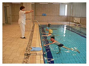 Фитнес в бассейне - Клиника лечебного голодания ONIS